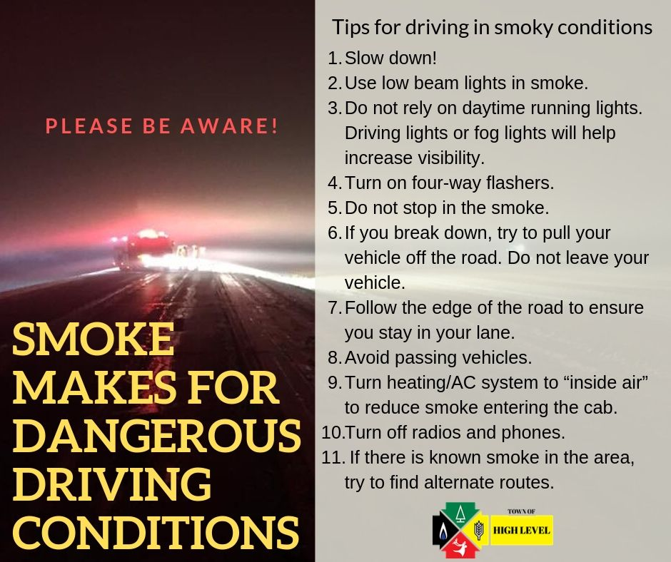 Smoke makes for dangerous driving conditions (2)