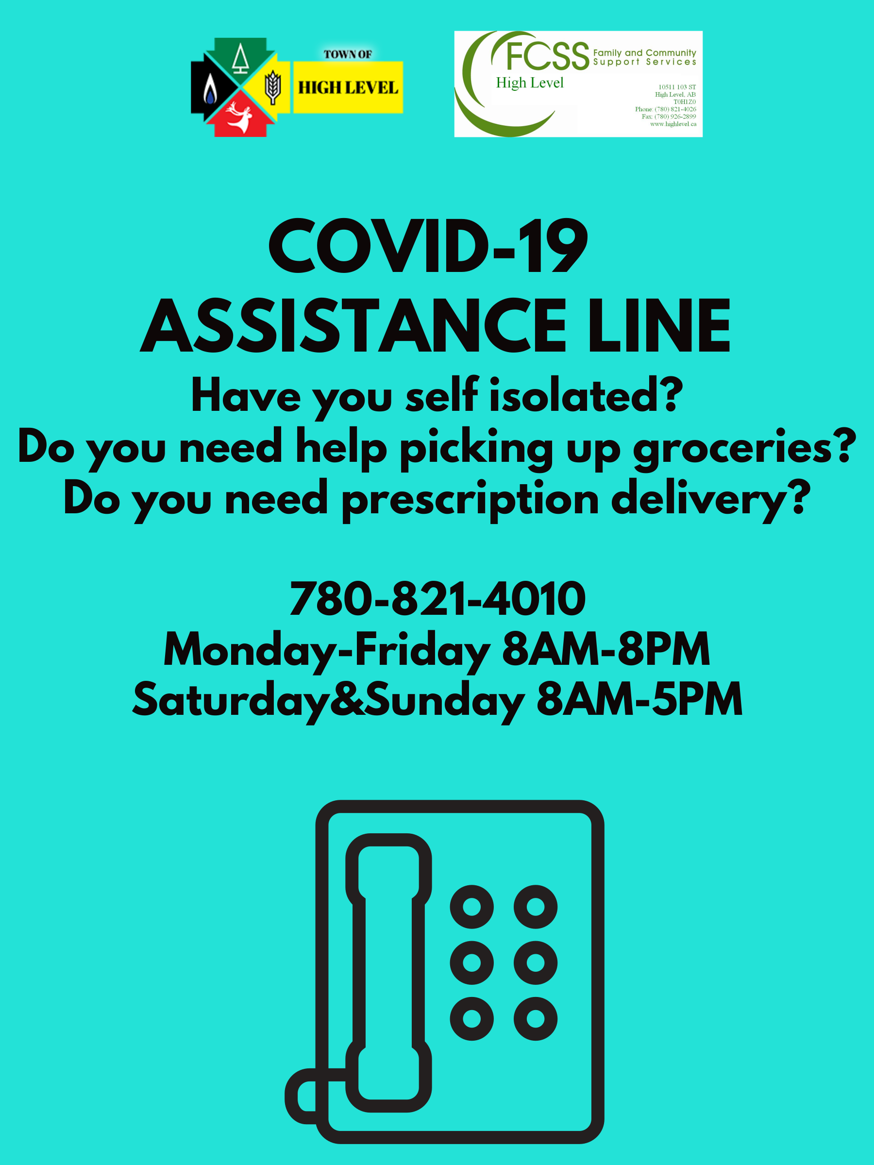 COVID-19 Assistance Line